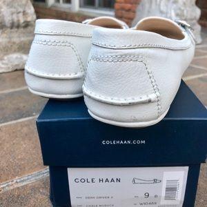 Cole Haan Shoes - COLE HAAN Demi Driver II, color Chalk Nubuck, Sz 9